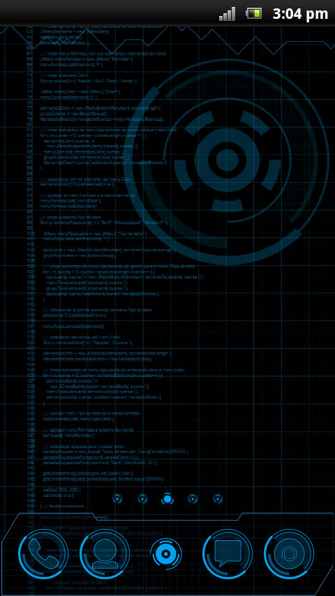 JARVIS MARK - Theme GO Launcher EX 1 APK Download - Android