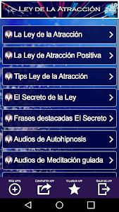 Ley de la Atracción 3.0.0 screenshot 1