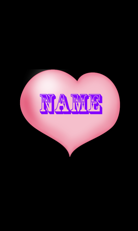 Heart Name Live Wallpaper 1 6 Screens3