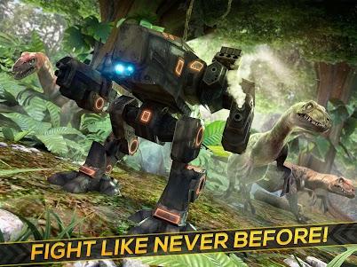 Dino-Robot! Future War 3D Game 1.0.0 screenshot 4