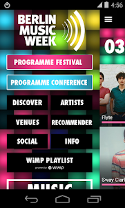 Berlin Music Week 2014 2.0.0 screenshot 1