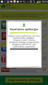 BITĖ išmaniems 1.1.1 screenshot 3