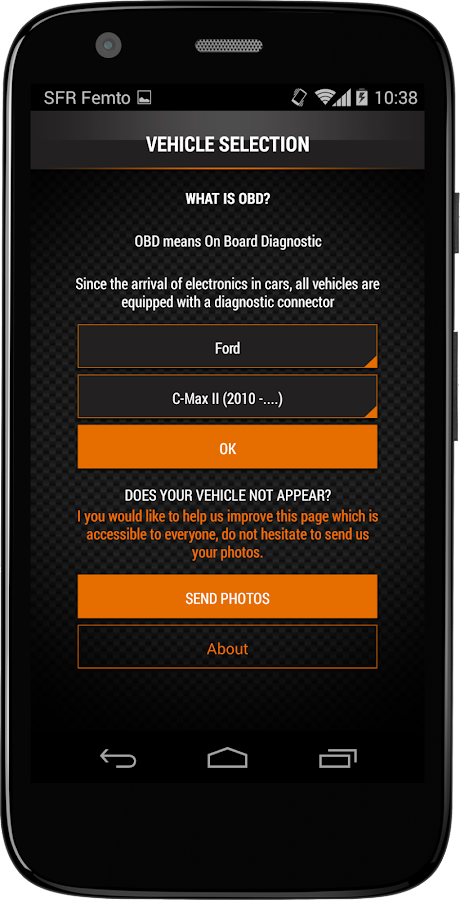 OBD2 port Lookup - Car's DLC 1 06 0414 APK Download