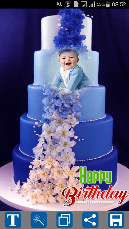 Happy Birthday Cake Frames 1 3 Apk Download Android Photography Apps