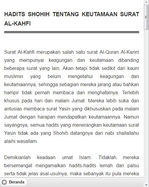 Surat Al Kahfi Dan Artinya Backgroundmenuhargacom