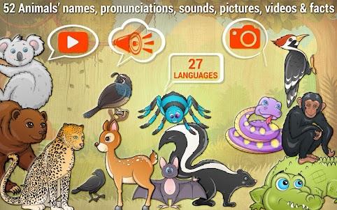 Free Kids Puzzle Game - Animal 2.7.0 screenshot 1