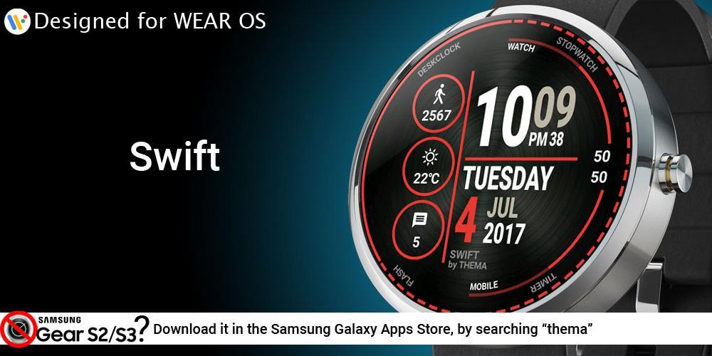 Swift Watch Face & Clock Widget APK Download - Android