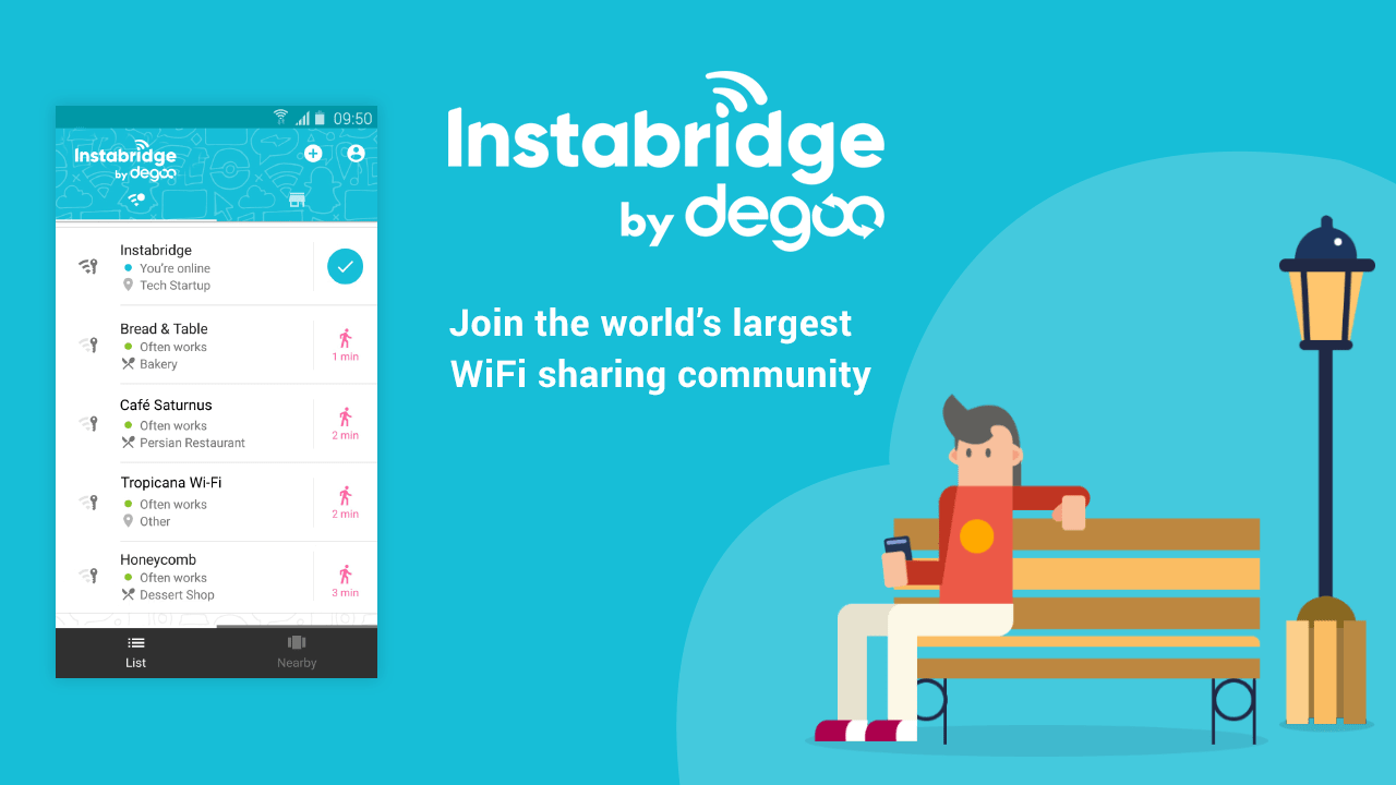 Free WiFi Passwords and Hotspots by Instabridge APK Download