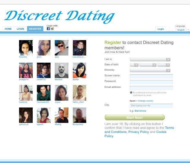 Casual dating e-mail