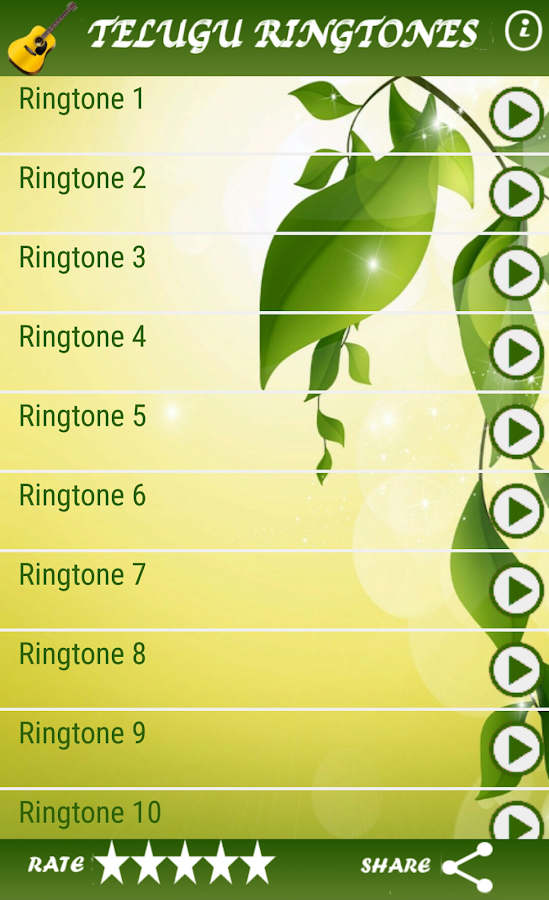 telugu ringtones app