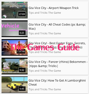 Guide GTA Vice City 2 0 APK Download - Android Books