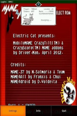 CrazyTilt-MAME 0 78 APK Download - Android Arcade Games
