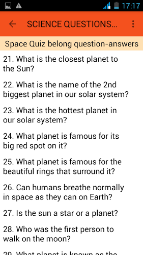 Science And Nature Quiz Questions