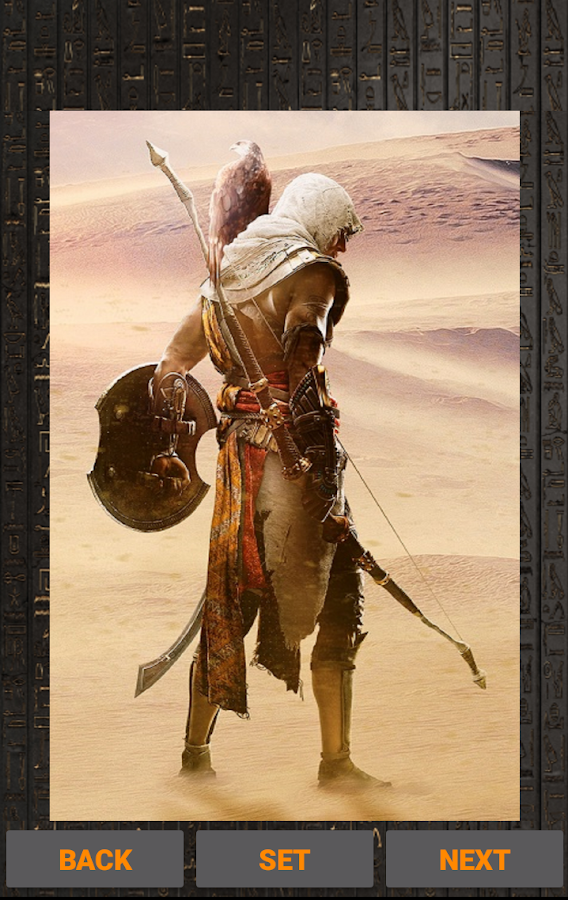 assassins creed origins wallpaper for android
