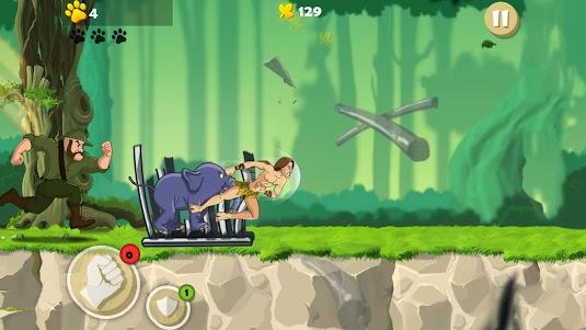 Tarzan Rescue Run 1.0 screenshot 1