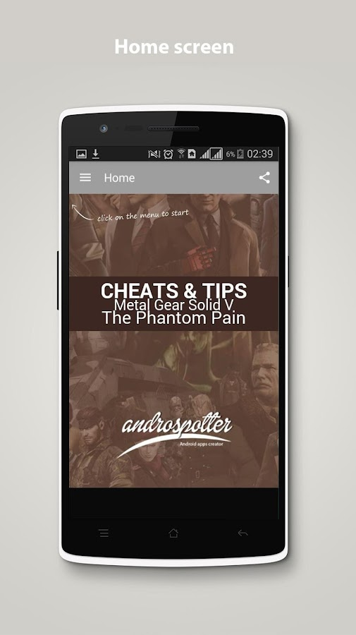 Cheats for Metal Gear Solid 5 1 3 0 APK Download - Android