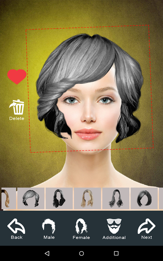Hairstyle Changer App Virtual Makeover Women Men 1246 Apk