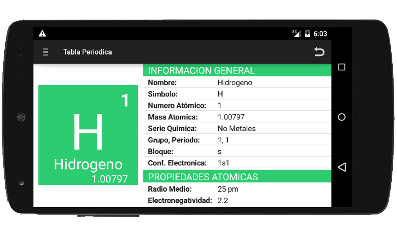Tabla periodica y nomenclatura 11 apk download android education apps tabla periodica y nomenclatura 11 screenshot 5 urtaz Images