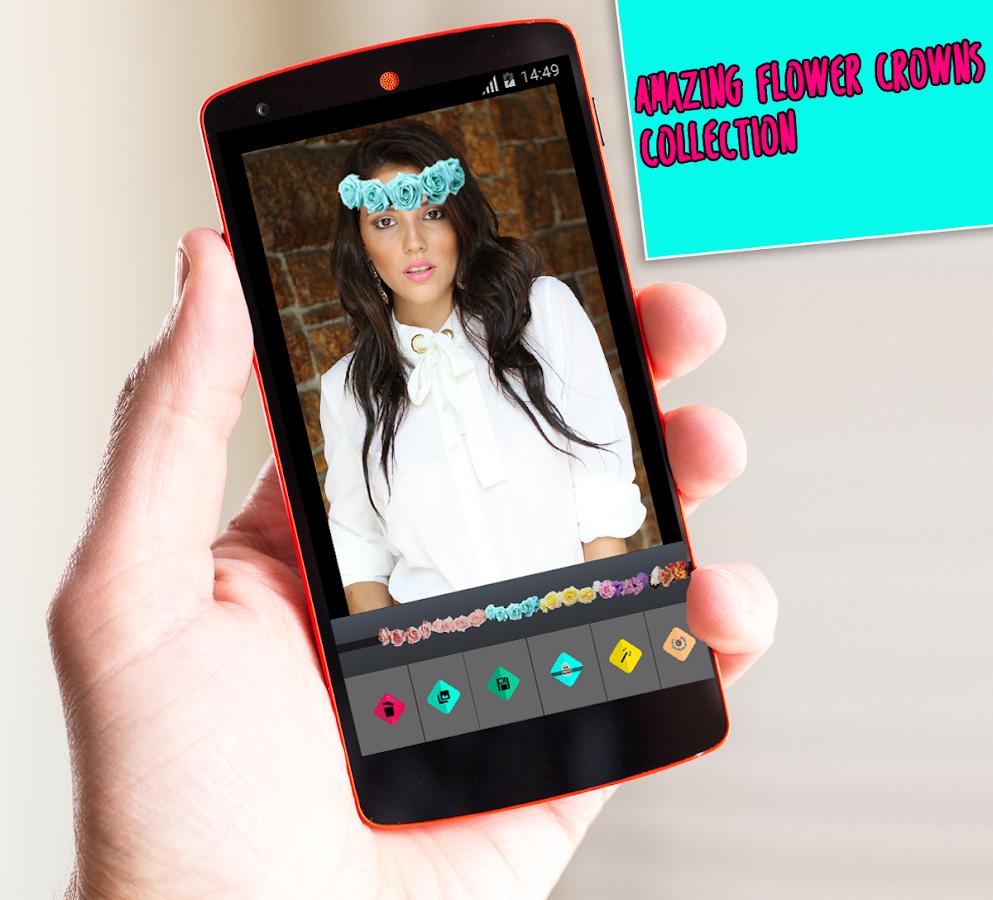 Snaping flower crowns emojis 10 apk download android snaping flower crowns emojis 10 screenshot 1 izmirmasajfo