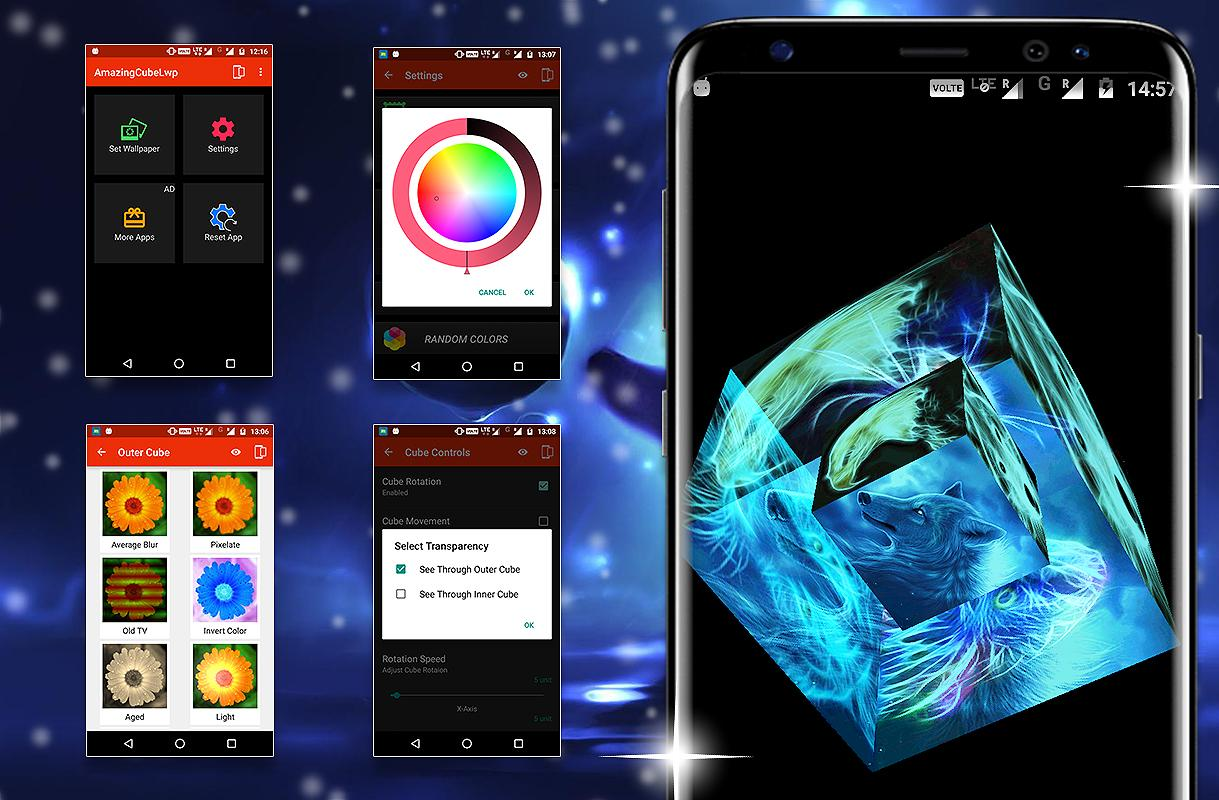 Photo Cube Live Wallpaper Pro Apk Free Download The Best Hd Wallpaper