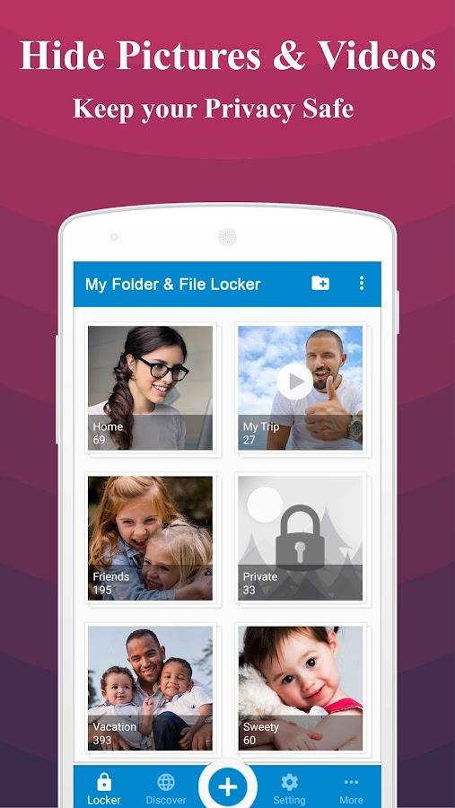 My Folder & File Locker: Hide Photo and Videos 1 2 APK