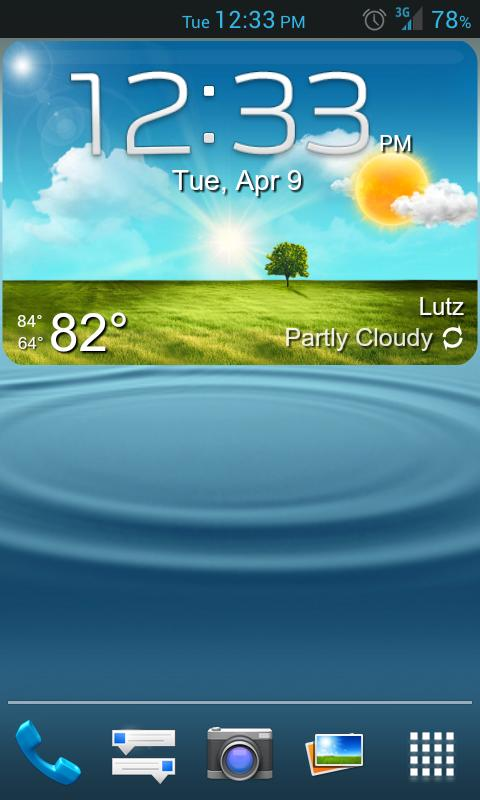 GS3 ish Weather (a UCCW Skin) 1 7 APK Download - Android