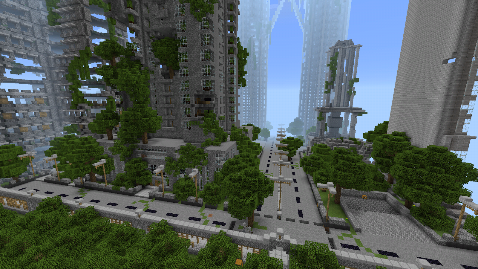 Ruined City Map for MCPE 1 0 1 APK Download - Android Entertainment Apps