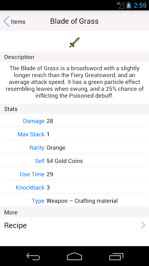 Helper for Terraria - Guide 1 0 3 APK Download - Android