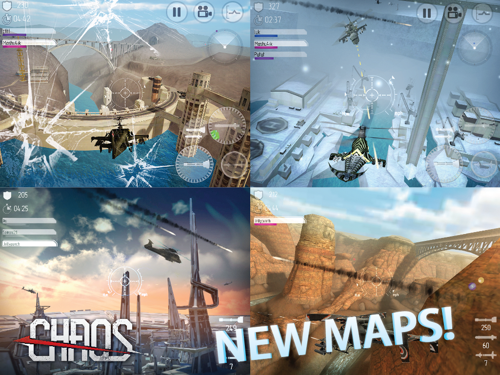 CHAOS Combat Helicopter 3D 7 3 5 APK + OBB (Data File