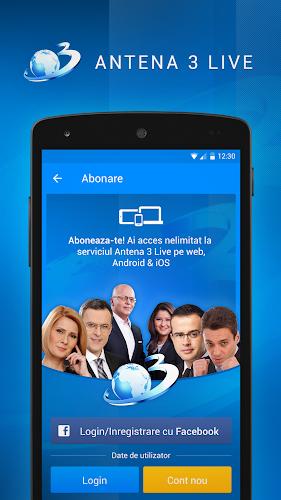 Antena 3 romania android apps