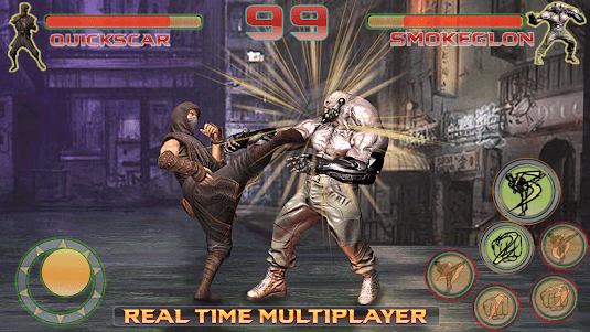 Shadow Ninja Kung Fu Fight 3D 1 screenshot 9