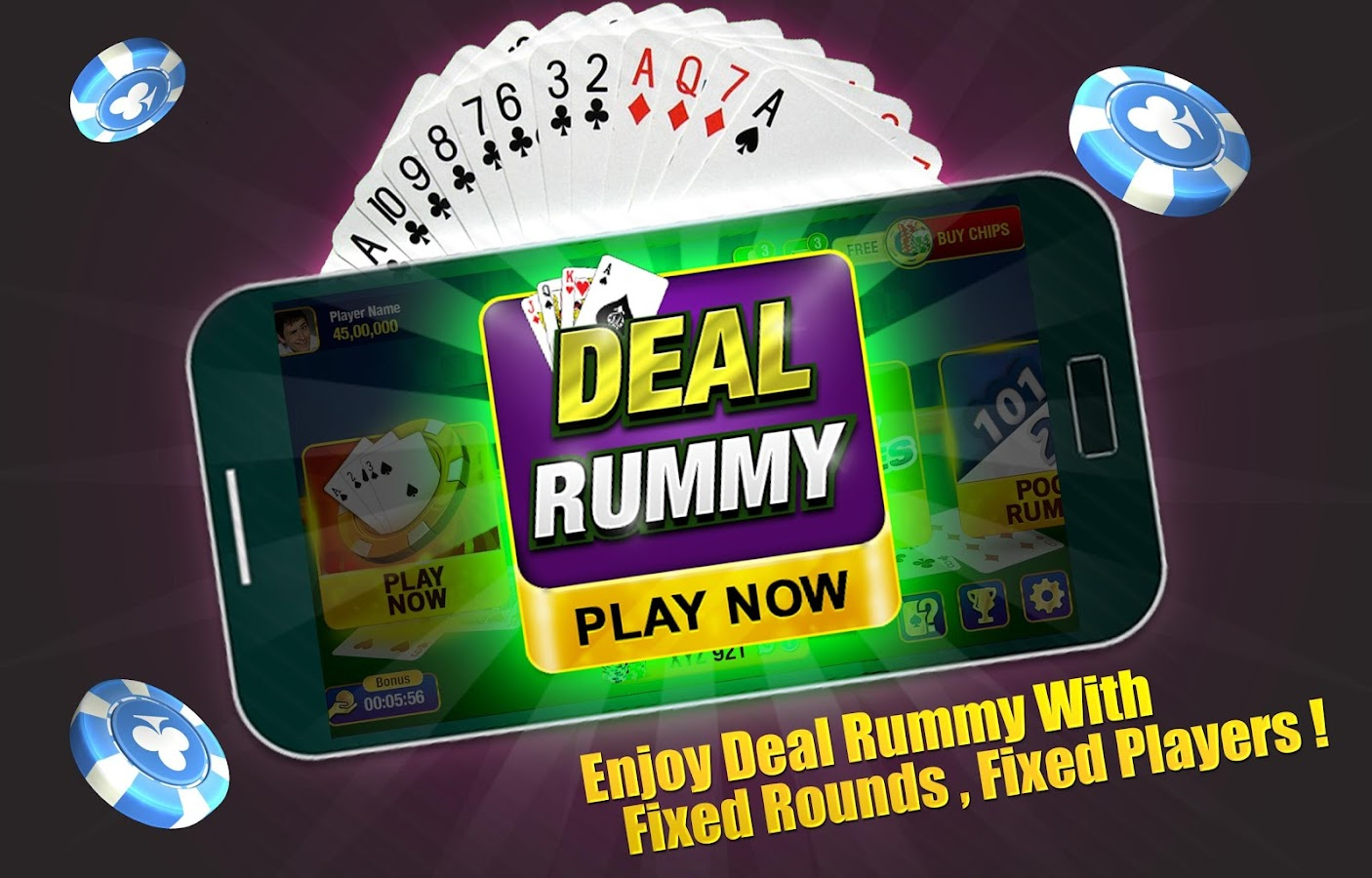 Indian rummy best card Games for Android phone