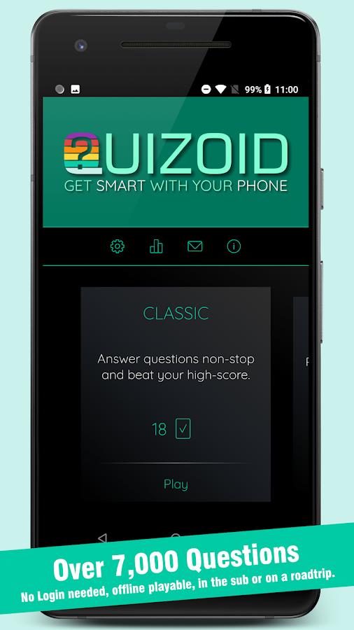 Quizoid 2019 General Knowledge offline Trivia Quiz 5 0 8 APK