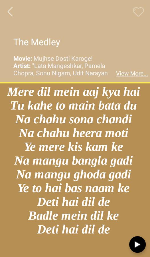 Hit Lata Mangeshkar Songs Lyri 1 0 APK Download - Android