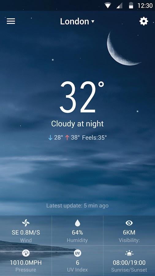 Blue Sky - Best Weather Widget 7 2 8 b_release APK Download