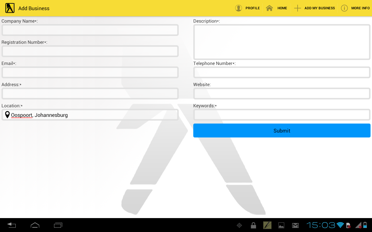 Yellow Pages South Africa 5 3 APK Download - Android Books