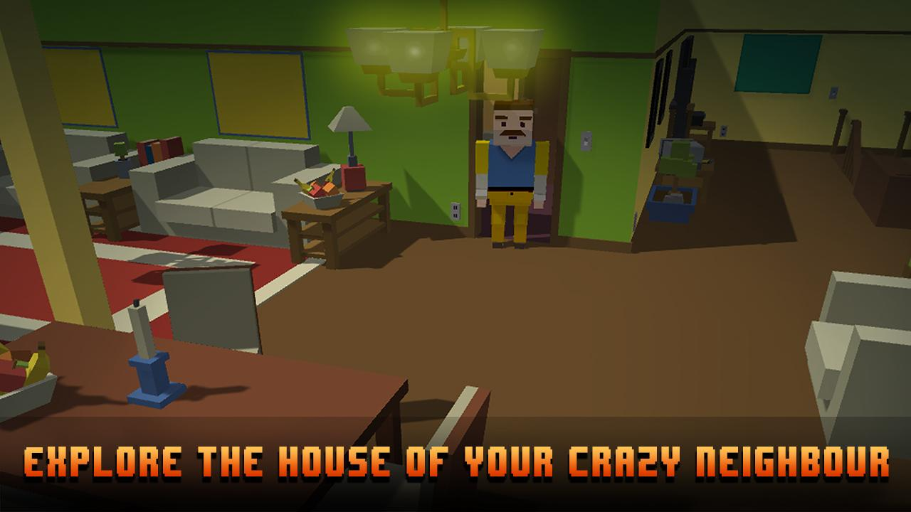 Cube Hell: Neighbor Battle 3D 1 1 0 APK Download - Android Adventure