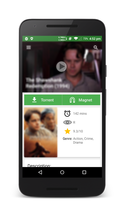 YIFY Browser (Yts) 1 0 APK Download - Android Entertainment Apps