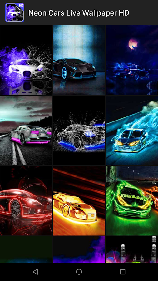 Neon Cars Live Wallpaper Hd 2 8 Apk Download Android Personalization Apps