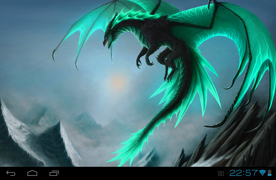 Dragons Live Wallpaper 10 Screenshot 1 2