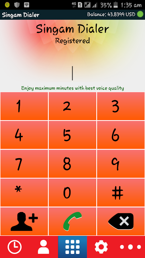 Singam Dialer Pro 3 8 8 APK Download - Android Communication Apps