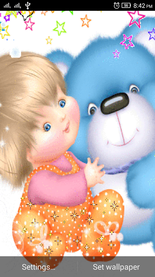 3d Teddy Bear Live Wallpaper 1 2 Apk Download Android