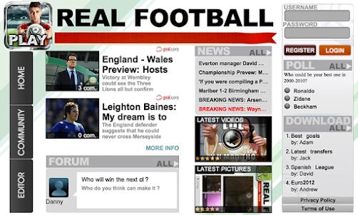 Real Football 2012 1.6.1d screenshot 13