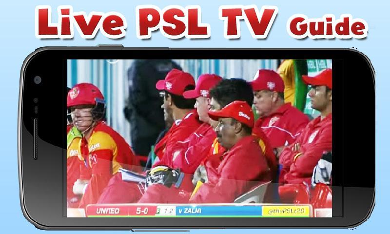 PSL Live Cricket TV PTV Guide 1 0 APK Download - Android