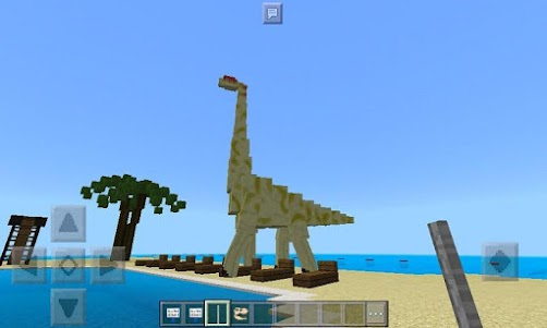 Map Jurassic World for MCPE 1.0 screenshot 1