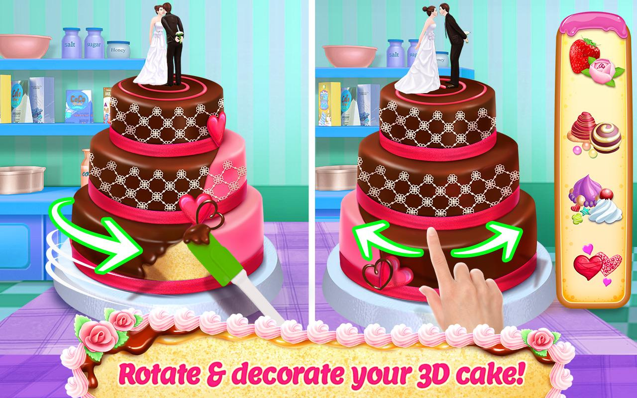 Real Cake Maker 3d Bake Design Decorate 170 Apk Download