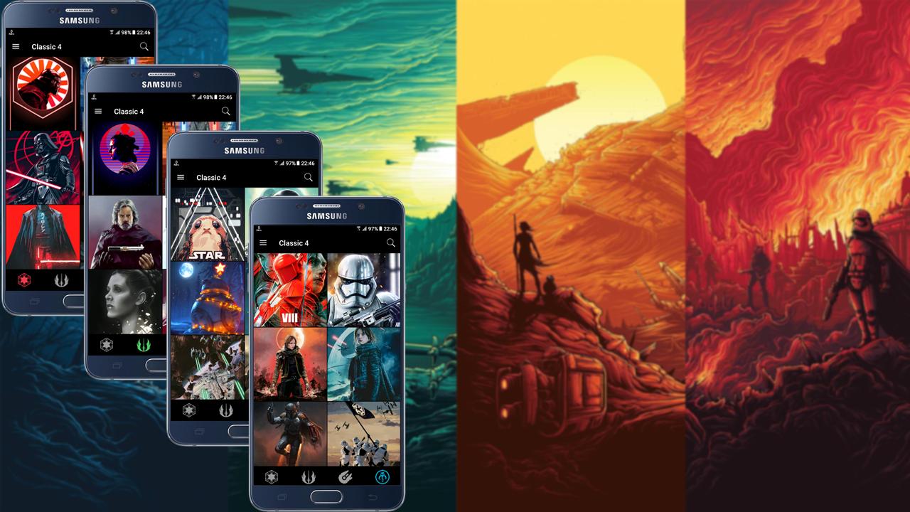 ... GeekArt - Star Wars Wallpapers & Arts 2.51 screenshot 2 ...