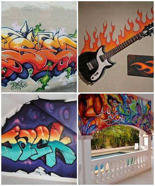 Graffiti Art Design Ideas 1.0 APK Download - Android Lifestyle Apps