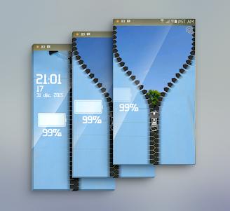 Manchester City zipper lock 1.0 screenshot 1
