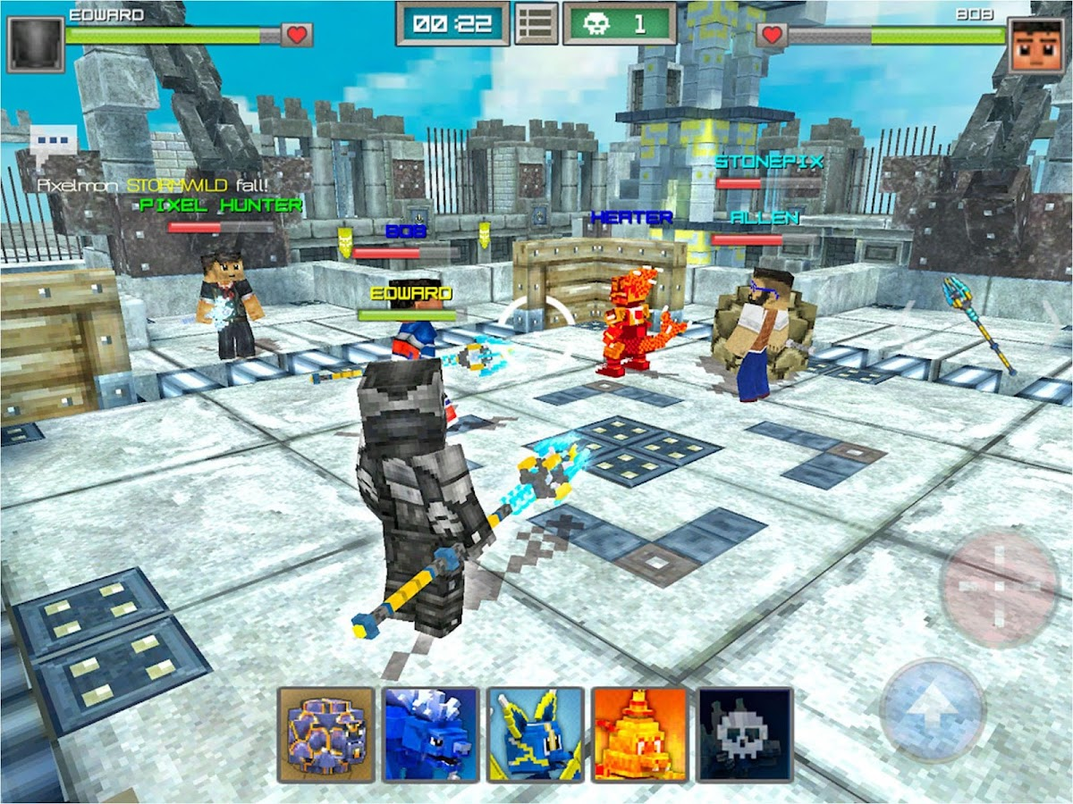 Pixelmon Hunter 2 1 16 APK + OBB (Data File) Download